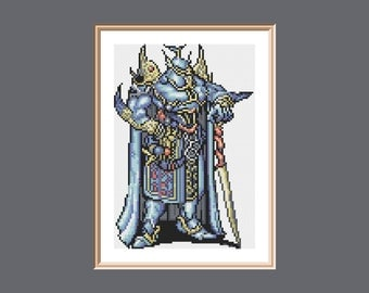 Exdeath Final Fantasy V Cross Stitch Pattern PDF instant download