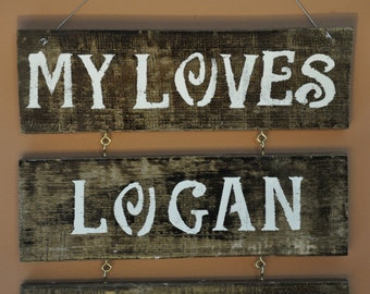 Personalized Signs, Personalized Wood Signs, Home Decor, Signs, House Decor, Rustic Decor, Wooden House Signs, Housewarming, Gifts