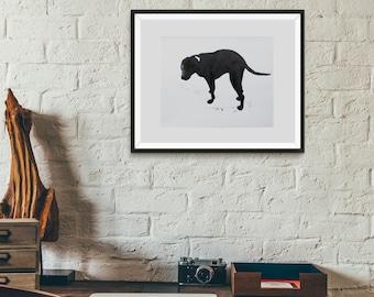 Minimalist Labrador