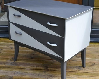 Revamped Vintage Chest of Drawers