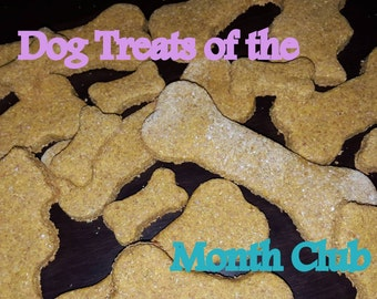 Dog Treats of the Month Club - Three Months of Tasty, Healthy Dog Treats