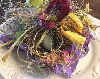 Ring Bearer Nest, Nest Ring Bearer, Wedding Ring Bearer Nest, Ring Bearer Box, Ring Bearer ideas, Ring Bearer, Ring Bearer Pillow alternate
