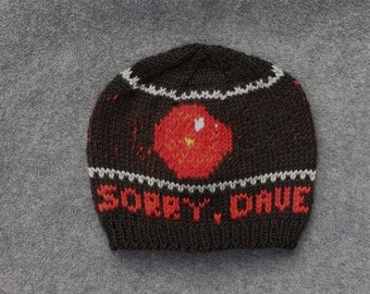 HAL 9000 Hat - 2001 A Space Odyssey - Handmade