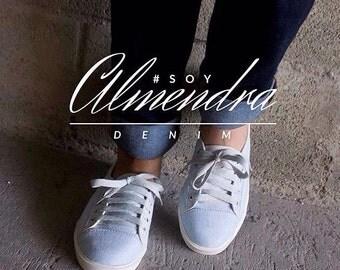 Sneakers sneakers Almendra denim