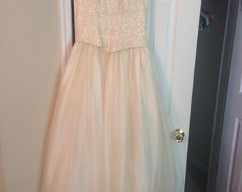 SALE - Vintage Jessica McClintock Wedding Gown