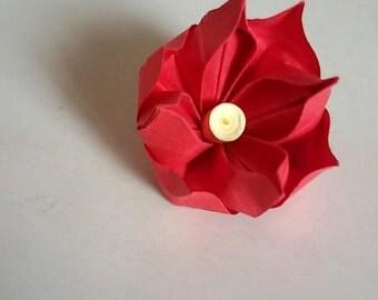 Origami flower/flower origami placeholder placeholder placeholder/wedding/flower/flowers/price per single flower