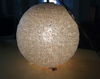 Mid century modern spaghetti lamp