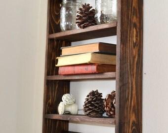 Towel rack, Rustic Bathroom Shelf, Bathroom Organizer, Toilet Shelf, Rustic Home Decor, Rustic Bathroom, Gift for Her, Christmas gift