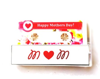 Personalized Cassette Tape Flash Drive for Mom