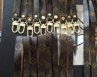 Handmade LV wristlets