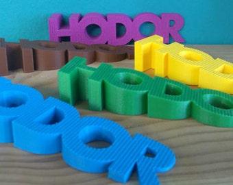 Free US Shipping - Various Colors HODORstop Game of Thrones HODOR Door Stop