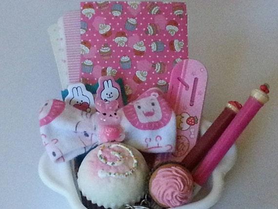 Squishy Bunny Etsy : Cupcakes & Bunnies Kawaii lot cupcake squishy cupcake mini