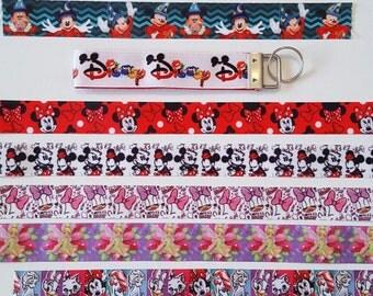Disney key fob wristlet