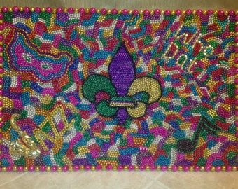 New Orleans Mardi Gras Mosaic