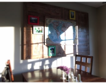 Map board, travel, picture, wall art