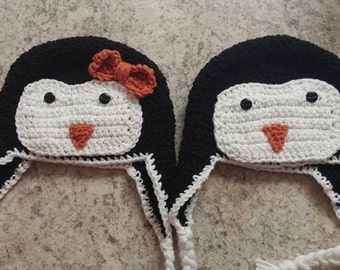 Penguin hat * Ready to ship*