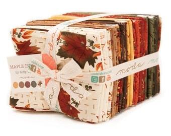 Maple Island Fat Quarter Bundle by Holly Taylor Moda Fabrics  #6610AB 100% Cotton
