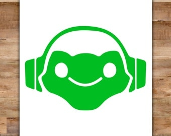 Lucio Overwatch Decal - Overwatch Lucio Overwatch Sticker - Video Game Decals Geek Decals Video Game Decor Video Game Stickers