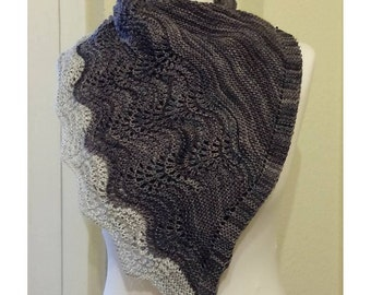 Hand knitted cloth/stole