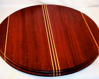 Lazy Susan - Wooden Lazy Susan - Wood Lazy Susan - Wood Turntable - Wooden Turntable - Housewarming Gift - Carved Wood - Beech Wood Board