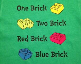 Dr Seuss Lego Shirt