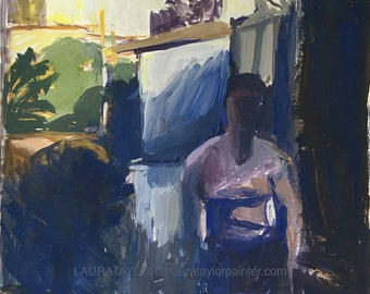 Woman, Late Afternoon