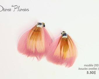 Earrings   feathers