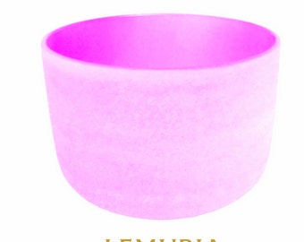 crystal singing bowl Violet - Lemuria