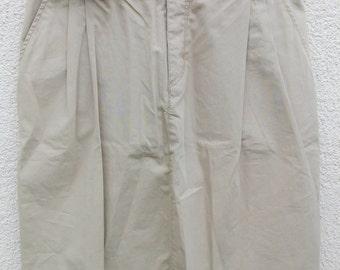 Boomerang cotton beige skirt