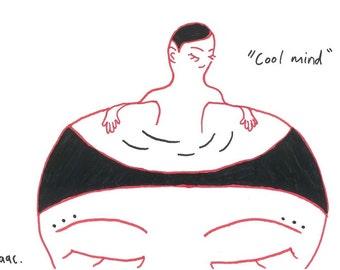Print: 'Cool Mind'