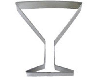 """Cookie Cutter Martini Glass 4"""""""
