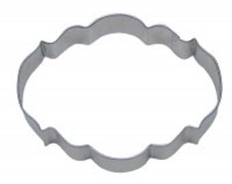 Cookie Cutter Elegant Plaque 4.25""