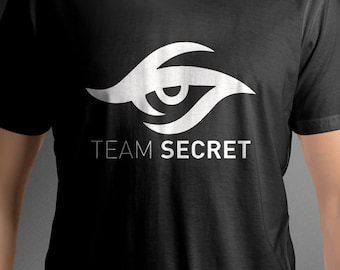 Team Secret shirt logo tee C87