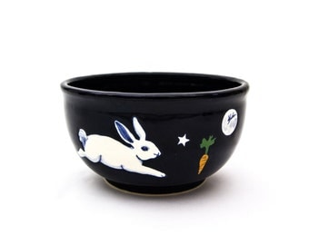 Karen Howell Legend of the Rabbit Pottery Bowl
