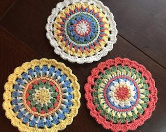Trivets - set of 3