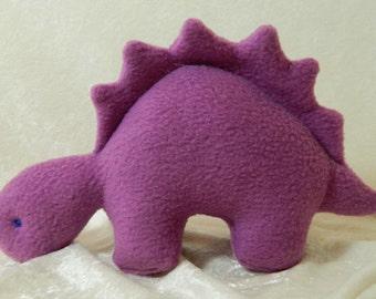 Stuffed dinosaur, small stuffed stegosaurus, dinosaur toy, plush dinosaur, dinosaur stuffed animal, dinosaur plushie, dinosaur plush