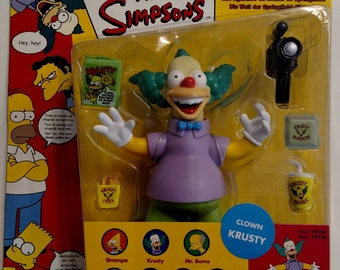 Krusty the Clown-Simpsons Collectable Figurine, unopened package