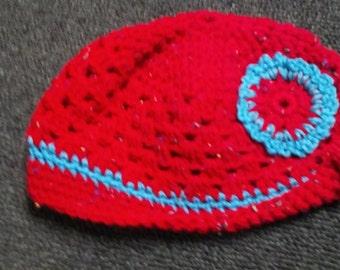Crocheted Child's Beanie