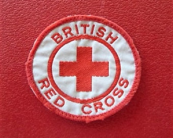 British Red Cross ...  Interesting ARC Souvenir Patch