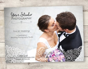 "Wedding Photography Marketing Template 5x7"" (13x18cm) - A_104"