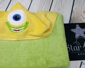 Monster Inspired Towel