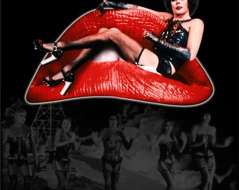 Rocky Horror Picture Show poster 11x17