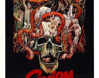 Squirm movie poster 11x17