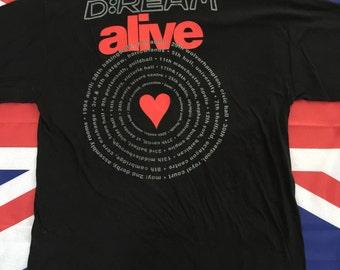 Vintage D:Ream 1994 UK Tour T Shirt XL