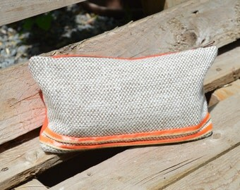 Pouch coral Beige