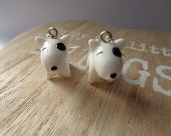 "Earrings ""French Bulldog"""