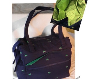 Awesome Awesome Bag, E-Z WEEKENDER Bag Pattern, Roberta ann designs