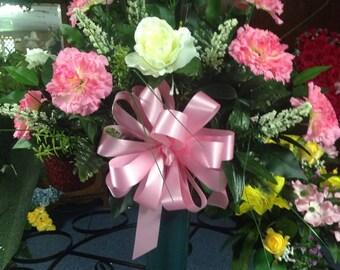 Silk Flower Vase Arrangement