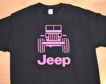 Jeep T Shirt Etsy - Jeep logo t shirt