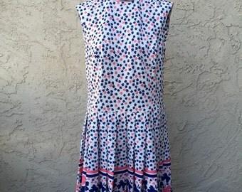 1960s Shamrock Dress S-M